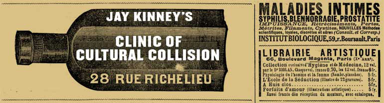 Jay Kinney's Clinic of Cultural Collision